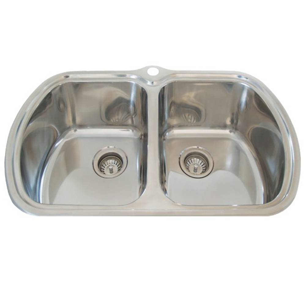 Kitchen Sink With Double Bowls